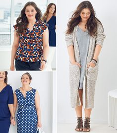 Read the article 'Closet Swap: 14 New Plus Size Women's Sewing Patterns' in the BurdaStyle blog 'Daily Thread'.