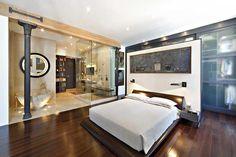 Spectacular SoHo loft, 71 Grand Street #3N. Amazing bedroom, kitchen, living room . . .