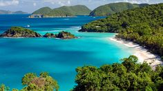 Trunk Bay's beach and coral reefs remain among St. John's most breathtaking and well-preserved attractions.