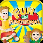 Fun & Functional app targets receptive and expressive language skills. Developed by #slpeeps . #autism #sped