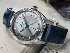 The new Omega Globemaster Annual Calendar watch for Baselworld 2016 with images, price, background, specs, & our expert analysis.