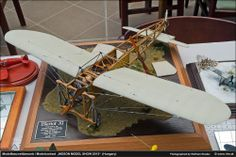 Bleriot XI 1/16 Scale Model