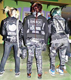 crust punk patches by GothicDMetala.deviantart.com on @deviantART