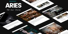 ARIES is a clean and minimal Wordpress theme for Blog and Magazine web site. Built with the latest Wordpress technology. ARIES support responsive layout so it looks great on all devices. It has ...