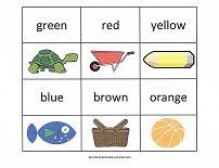 Fun Printables for Learning Colors!  Wall Cards, Coloring Pages, Activities and Worksheets for Preschoolers from www.preschool-printable-activities.com