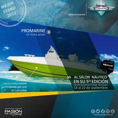 #SalónNáutico Embarcaciones personalizadas. Innovadoras en Diseño, Tecnología y Seguridad. El futuro significa Innovar.