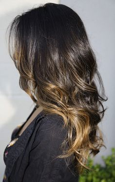 Ombré isn't always easy to get to, but once you have it, the maintenance is far simpler than a regular high light. Whether you have dark hair and don't want to touch up your high lights regularly or if you just want to look like you spend last summer in the sun, this could be your look.