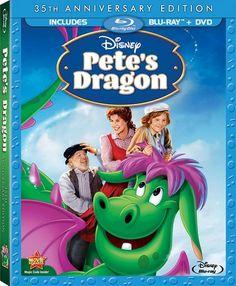 Pete's Dragon 35th Anniversary Edition Blu-ray + DVD