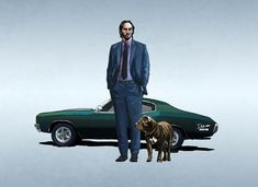 John Wick with Mustang Wallpaper, HD Movies Wallpapers, Images, Photos and Background Baba Yaga, John Wick Movie, Mustang Wallpaper, Keanu Reeves John Wick, Keanu Reaves, Sketchbook Pro, Graffiti Characters, Lone Wolf, Movie Wallpapers