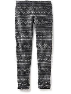 Printed Leggings for Girls
