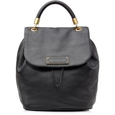 MARC BY MARC JACOBS Leather Backpack (£470) found on Polyvore