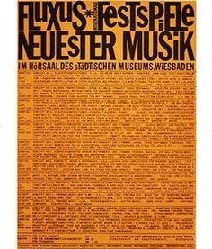 George Maciunas »Plakat Fluxusfestspiele«