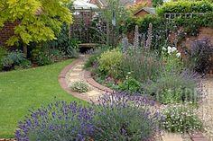 Ideas For Backyard Garden Design Layout Landscaping Gravel Path Brick Path, Brick Garden, Backyard Garden Design, Backyard Landscaping, Glass Garden, Landscaping Ideas, Backyard Ideas, Garden Steps, Garden Paths