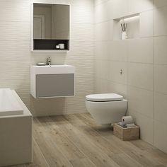 Boutique Arkety Bone Structure Ceramic Wall Tile 600 x Wood Effect Floor Tiles, Wood Tile Floors, Wall And Floor Tiles, Wet Room Flooring, Beige Bathroom, Bathroom Floor Tiles, Wood Bathroom, Tile For Small Bathroom, Bathroom Ideas