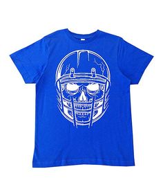 Royal Football Skeleton Tee - Infant Toddler & Boys