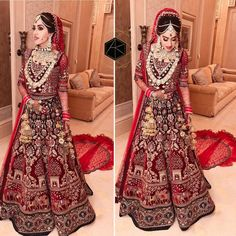 Image may contain: 2 people, people standing Latest Bridal Lehenga Designs, Wedding Lehenga Designs, Indian Wedding Lehenga, Designer Bridal Lehenga, Bridal Lehenga Choli, Indian Bridal Outfits, Indian Bridal Fashion, Indian Bridal Wear, Bridal Lehngas