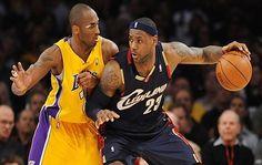 LeBron James anotó 24 puntos en su último juego ante Kobe Bryant y lideró a los Cavaliers Cleveland en su victoria por 120-108 el jueves sobre los Lakers