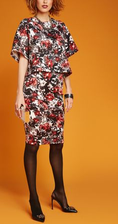 Not only can you wear floral prints together, but they make great separates too!