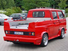 DOKA Vw Bus T3, Volkswagen Bus, Vw T1, Vw Camper, Campers, Vw Pickup Truck, Combi Wv, Vw Syncro, Transporter T3