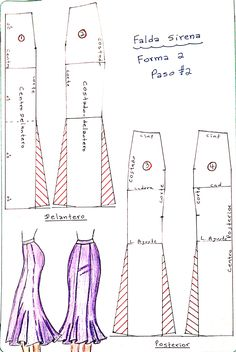 Baby Dress Patterns, Skirt Patterns Sewing, Sewing Patterns For Kids, Clothing Patterns, Clothing Ideas, Sewing Pants, Dress Sewing, Sewing Collars, Sewing Quotes