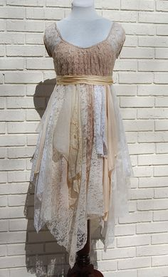 Upcycled Clothing. The Bohemian in me loves this.