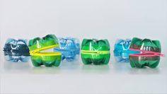Risultati immagini per riciclo con bottiglie di plastica