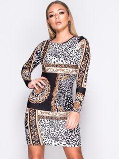 Vestido Ajustado Estampado MS2136 Sequin Skirt, Sequins, Skirts, Fashion, Types Of Dresses, Short Dresses, Cute, Moda, La Mode