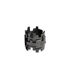 Image of PixelMax ring, oxidised silver