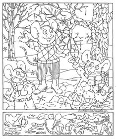 6 Best Images of Winter Hidden Picture Printables - Free Printable Christmas Hidden, Free Printable Hidden Pictures Winter and Printable Hidden Objects Coloring Pages Hidden Object Puzzles, Hidden Picture Puzzles, Hidden Objects, Coloring For Kids, Coloring Pages For Kids, Coloring Books, Coloring Sheets, Hidden Pictures Printables, Picture Search