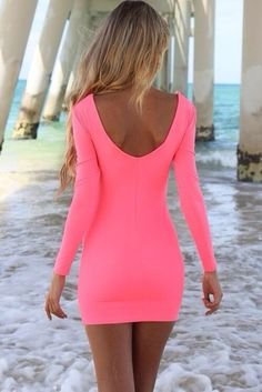 Pretty bodycon dress