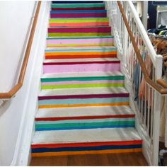 Stairs. Madewell @ Americana.