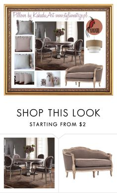 Styling Idea by kakaduart on Polyvore featuring interior, interiors, interior design, dom, home decor and interior decorating, pillows of KakaduArt, cushion,