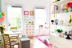 a whimsical studio transformation