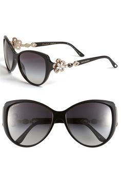 Bvlgari 'Limited Edition' Cat's Eye Sunglasses...would never fork over this kind of money for sunglasses but so pretty!
