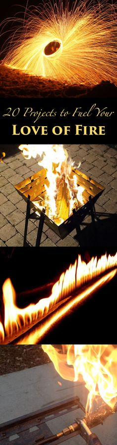 Get inspired here to create your own fire-related projects.