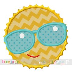 Hang to Dry Applique - HTD Sun Shades, $3.99 (http://www.hangtodryapplique.com/htd-sun-shades/)
