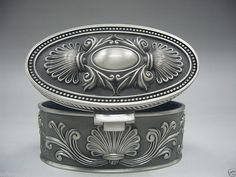 Collectibles Old décoré Handwork Miao argent sculpture boîte à bijoux(China (Mainland))