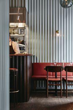 Metal Clad Restaurant Interiors