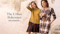 Esprit Alle Styles im Online Shop kaufen Shops, Neue Trends, Bohemian, Urban, Style, Women's, Tents, Retail, Boho