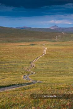 Imagine riding here with a CX bike. Cyclists heaven. Mongolia
