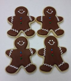 Almost Famous by Tracy creates custom decorated cookies for weddings, baby showers, businesses and events Gingerbread Men, Gingerbread Cookies, Christmas Cookies, Christmas Crafts For Kids, Simple Christmas, Holiday Crafts, Projects For Kids, Cookie Decorating, Baking Recipes