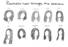 Loveee Rachel when she has long hair :)
