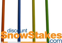 5ft Snow Stakes | Driveway Markers | Plain - 3/8
