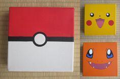 pokemon canvas art - Google Search