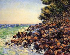 Claude Monet - Cap Martin, 1884