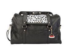 GET THE LOOK - Pair our Paris Weekender in black with our Dalmatian TrendStyler™ http://www.larissa-k.com/base-bags/paris-weekender-black-detail AND http://www.larissa-k.com/trendstylers/dalmatian-trendstyler-detail
