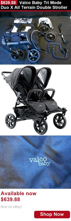 Other Baby Safety and Health: Valco Baby Tri Mode Duo X All Terrain Double Stroller BUY IT NOW ONLY: $639.88