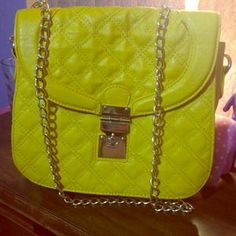 I just discovered this while shopping on Poshmark: Yellow purse. Check it out!  Size: OS