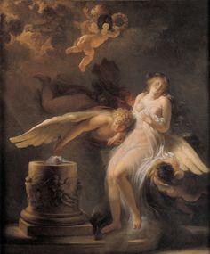 Le sacrifice de la Rose de Jean-Honoré Fragonard