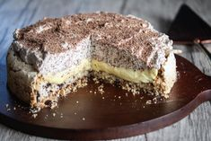 no Norwegian Food, Tiramisu, Baking Recipes, Goodies, Food And Drink, Favorite Recipes, Ethnic Recipes, Cakes, Drinks